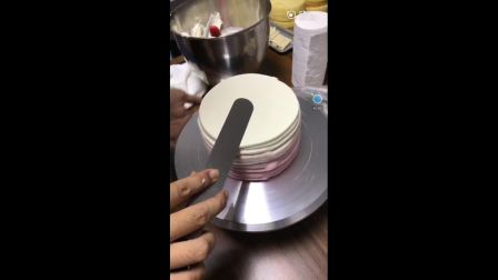 蛋糕一刀切快速抹面实操技巧