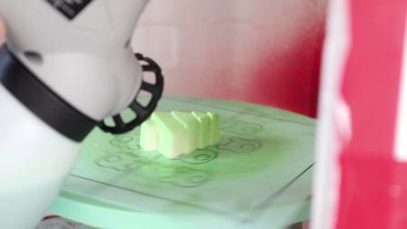 君晓天云劣狐狐巧克力喷枪法式西点喷砂机慕斯蛋糕喷霜机烘焙喷色机上色机