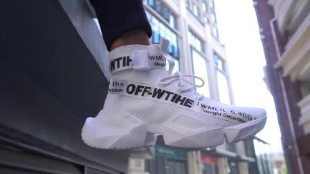 君晓天云aj1空军一号高筒鞋男怒吼天尊鸳鸯袜子鞋男士夏季运动潮鞋篮球鞋