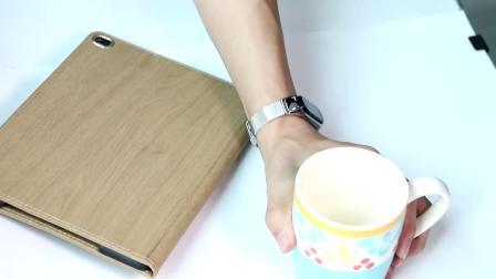 君晓天云适用小米手环43錶带金属不鏽钢护腕NFC智能运动三代四代替换手环带磁吸米兰尼斯商务个性男女潮炫戴原装正品