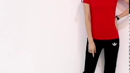 君晓天云运动套装男女情侣运动套装夏短袖长裤运动服跑步服装大尺码健身队服