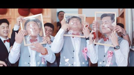 幸福鸟婚庆2019.08.18婚礼快剪 娜印象影视出品