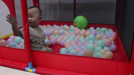 君晓天云宝宝儿童游戏围栏家用小孩地围室内防护栏爬行垫婴幼儿海洋球球池