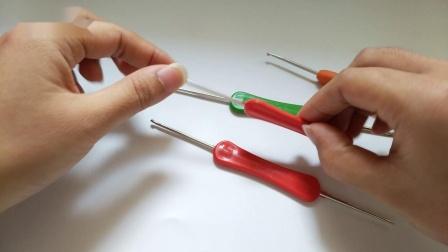 关于毛线与钩针的问题晓小惜教学视频钩织方法视频教程