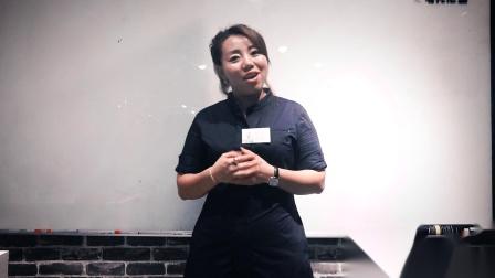 上海托尼盖美发学校,发型师慕英英学习汤尼英盖技术后收获分享视频