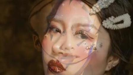 西安化妆学校化妆作品展示【西安金栗栗红强美容美发化妆学校】