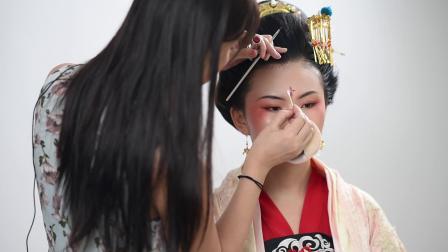 化妆培训哪家好?济南人像分享唐装造型视频教程