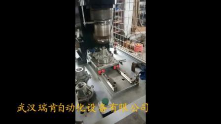 数控收口铆接机,自动化收口旋铆机