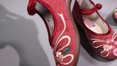 君晓天云老北京布鞋女绣花鞋汉服配旗袍古装鞋春秋单鞋中国风平底中年女鞋