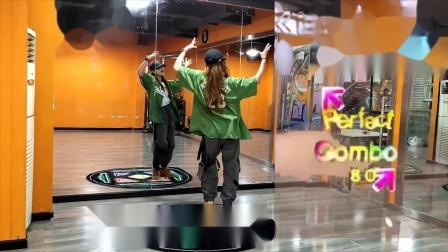 【跳舞机教程】HONEY 张艺兴  舞毯演示 e舞成名跳舞机【叶子教程】