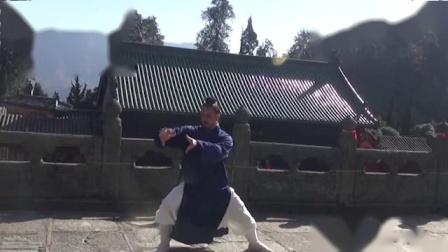 巴西籍道门弟子演练武当太和拳,太极国际化让老外们更有精气神 -