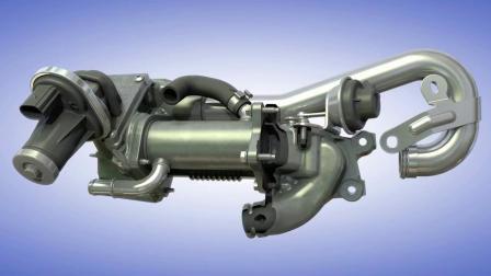 应用于乘用车的废气再循环系统(EGR)