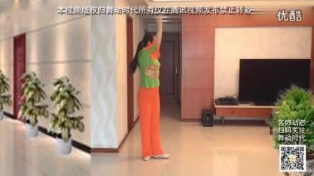 张春丽广场舞《远远的看着你》正背面演示及教学_标清