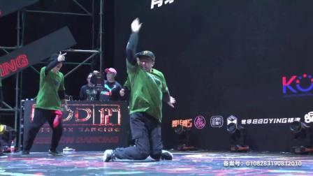 两队LOCKING第二轮精彩PK,选手信心十足,舞魂一触即发! 2019KOD街舞大赛 20190824