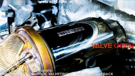 Porsche Cayenne E3 x STONE EXHAUST Sound