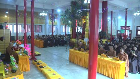 阜新灵缘禅寺清瑞大和尚讲《地藏菩萨本愿经》第一讲