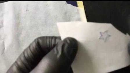 君晓天云10张纹身专用转印纸清晰重複使用小纹身器材工具描图手绘刺青图案
