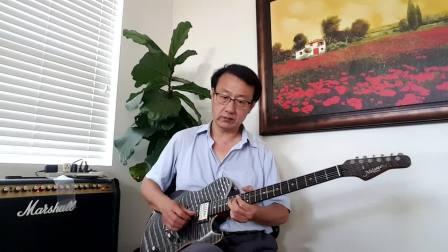 吉他手工调整-2 美产高端手工琴测试Melancon