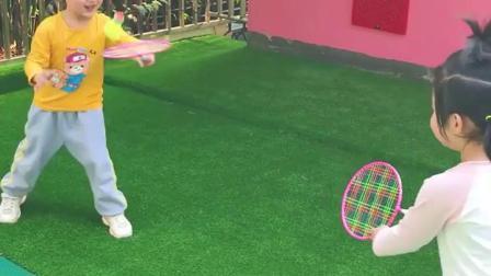 君晓天云指星儿童羽毛球拍3-12岁小学生户外训练耐打幼儿园初学球玩具