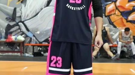 君晓天云个性粉色篮球服定製男女款比赛球衣定製骚粉球服24号篮球服印字号