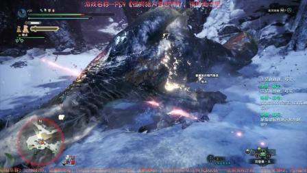 PS4怪物猎人雪世界-7-让人头疼的怪物满街都是