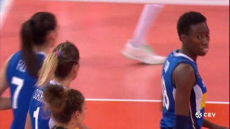 9月9日意大利vs波兰-女排欧锦赛三四决赛全场
