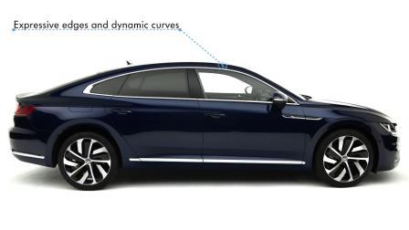 大众新车颜值爆表,无框车门+航空座椅,入华压制40万豪车