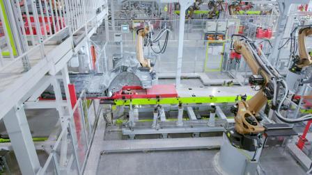 拜腾自建工业4.0高端智能工厂
