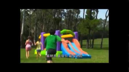 君晓天云儿童充气城堡室外大型蹦蹦牀公园跳跳牀宝宝滑梯淘气堡广场玩具