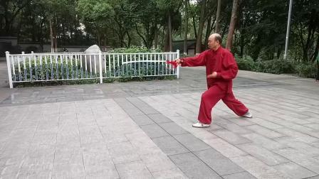 陈式太极剑唐华权20190908