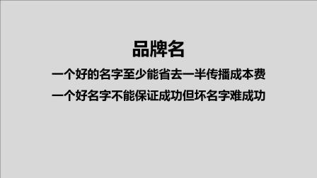 杨蒋银:如何取牛逼品牌名 好的品牌名就相信当营销原子弹 第53课