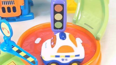 警察局场景趣味玩具