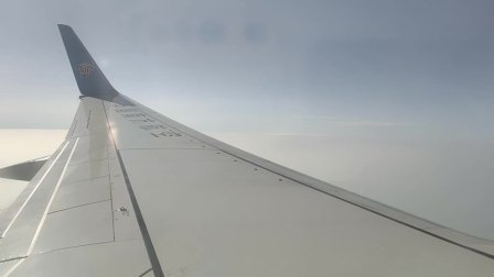 中国南方航空CZ6099航班从桂林两江国际机场起飞南宁吴圩国际机场降落