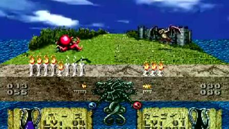 SFC SNES《超魔兽战记》攻略通关演示(16129)Illvanian no Shiro: Ruins of Illvanian