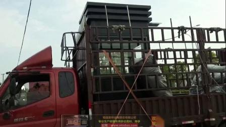 南通晟铎金属制品有限公司的钢结构岗亭合作成功案例发货实拍