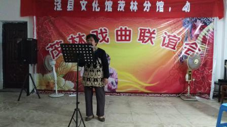 中华人民共和国成立70周年华诞,在茂林文化站演唱