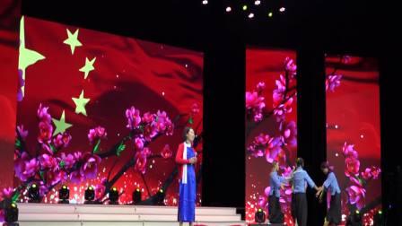 王辉艺术培训学校参加固安县庆祝中华人民共和国成立七十周年文艺演出《绣红旗》
