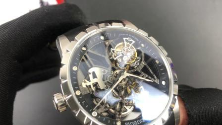 BBR 罗杰杜彼镂空陀飞轮腕表  V2男士手表