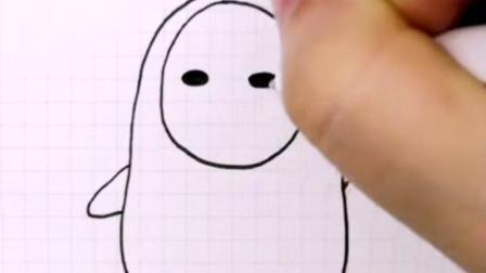 我最喜欢的一部动漫就是千与千寻,你们呢?#简笔画 #千与千寻#无脸男