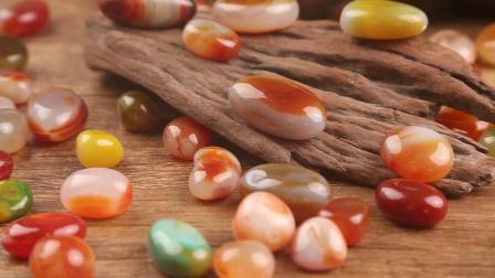 君晓天云南京雨花石原石多肉铺面鱼缸装饰天然彩色小石子五彩石头鹅卵石