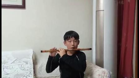 笛子独奏:《呼伦贝尔大草原》演奏:学生:管子钧