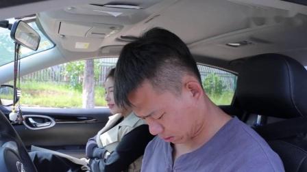悲催男子考驾照遇前妻,遭到前妻百般刁难,从开头笑到结尾
