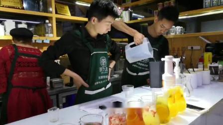 南昌奶茶培训哪里学-茶九度奶茶学校