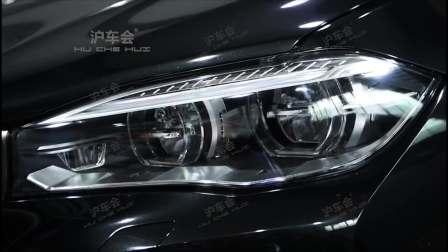 沪车会-宝马F15 X5升级原厂Led随动转向大灯