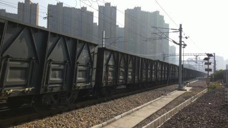 电力87930淮北站两道通过