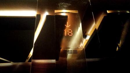 【稀有】铁桥建国大酒店客房电梯