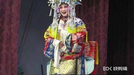 保定新华河北梆子剧团黄庄演出    彩楼配