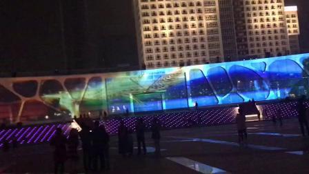 广东全息投影户外墙体裸眼3D