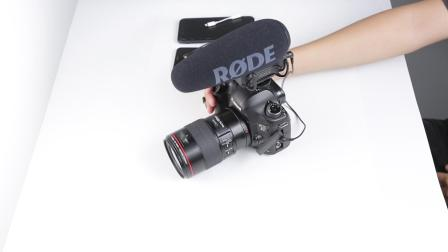 罗德VideoMic pro plus连接方式