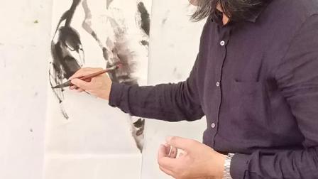 刘玉海老师教画寿桃之二